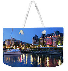 Victoria Lights Weekender Tote Bag