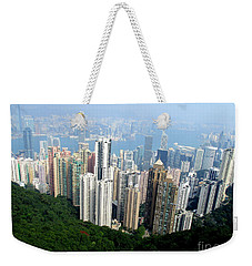 Weekender Tote Bag featuring the photograph Victoria Peak 1 by Randall Weidner