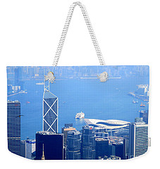 Weekender Tote Bag featuring the photograph Victoria Peak 2 by Randall Weidner