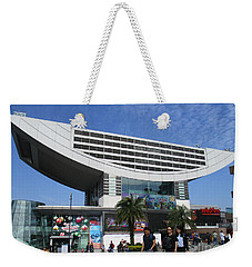 Weekender Tote Bag featuring the photograph Victoria Peak 3 by Randall Weidner