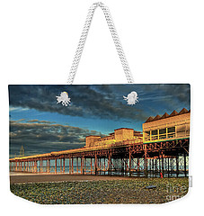 Weekender Tote Bag featuring the photograph Victoria Pier 1899 by Adrian Evans