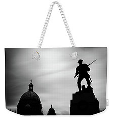 Victoria Silhouettes Weekender Tote Bag