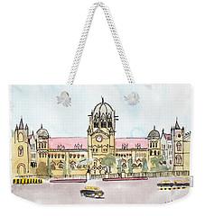 Victoria Terminus Weekender Tote Bag