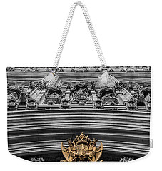 Victoria Tower Low Angle London Weekender Tote Bag
