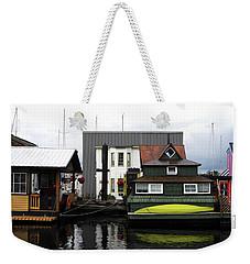 Victoria Wharf Weekender Tote Bag by Haleh Mahbod