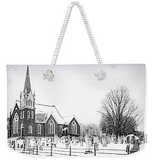 Weekender Tote Bag featuring the photograph Victorian Gothic by Kendall McKernon