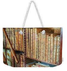 Victorian Library Weekender Tote Bag by Isabella F Abbie Shores FRSA