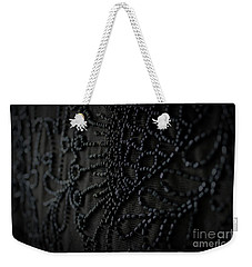 Weekender Tote Bag featuring the photograph Victorian Mourning Cape by Mary-Lee Sanders