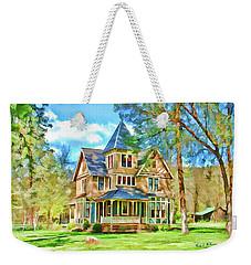 Victorian Painting Weekender Tote Bag