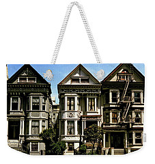 Victorian San Francisco Weekender Tote Bag