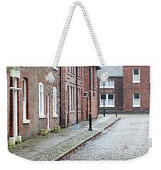 Victorian Terraced Street Of Working Class Red Brick Houses Weekender Tote Bag by Lee Avison