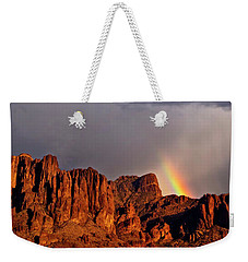 Weekender Tote Bag featuring the photograph Victory In The Storm by Rick Furmanek
