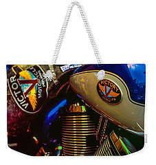 Weekender Tote Bag featuring the photograph Victory by Samuel M Purvis III