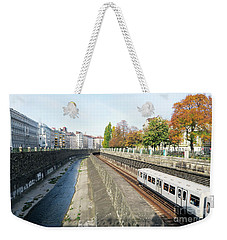 Vienna Canal Weekender Tote Bag by Christian Slanec
