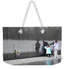 Vietnam Wall Family Weekender Tote Bag