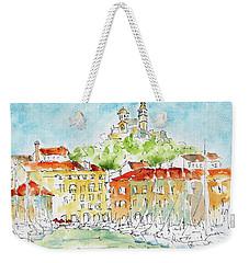 Vieux Port Marseille Weekender Tote Bag by Pat Katz