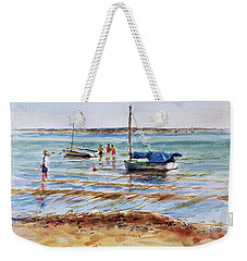 View Across Provincetown Harbor Weekender Tote Bag