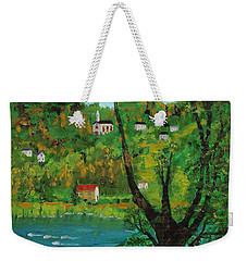 View Across The River Weekender Tote Bag