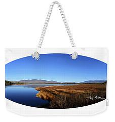 View At Cherry Pond Weekender Tote Bag