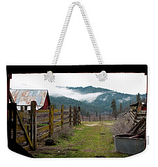 View From A Barn Weekender Tote Bag