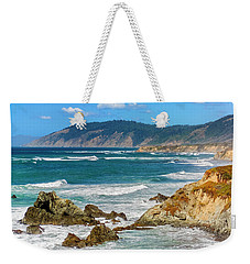 View From Abalone Point Weekender Tote Bag