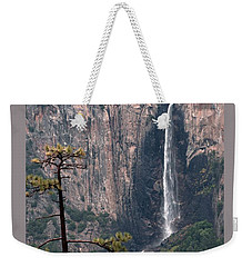Weekender Tote Bag featuring the photograph View From Big Oak Flat Road by Lynn Bawden
