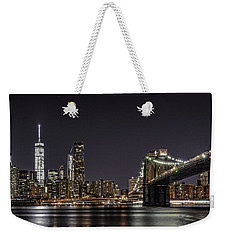 View From Brooklyn Bridge Park Weekender Tote Bag