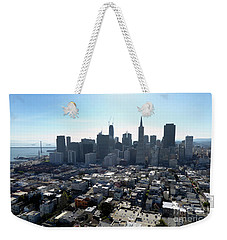 View From Coit Tower Weekender Tote Bag by Steven Spak