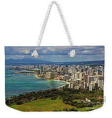 View From Diamond Head Weekender Tote Bag