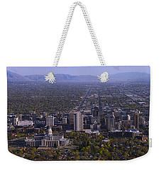 View From Ensign Weekender Tote Bag