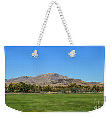 View From Gem Island Sport Complex Weekender Tote Bag