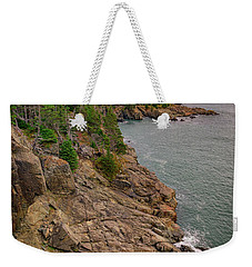 Weekender Tote Bag featuring the photograph View From Gulliver's Hole by Rick Berk