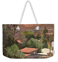 View From Moon Weekender Tote Bag by Richard Willson