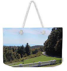 View From Moses Cone 2014a Weekender Tote Bag
