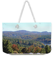 View From Moses Cone 2014c Weekender Tote Bag