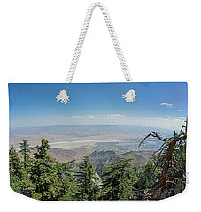 View From Mount San Jacinto Weekender Tote Bag