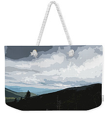 Weekender Tote Bag featuring the photograph View From Mount Washington II by Suzanne Gaff