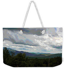 Weekender Tote Bag featuring the photograph View From Mount Washington IIi by Suzanne Gaff