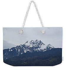 View From My Art Studio - Pilatus - March 2018 Weekender Tote Bag