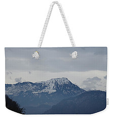 View From My Art Studio - Stanserhorn - March 2018 Weekender Tote Bag