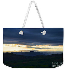 View From Palomar 9633 Weekender Tote Bag