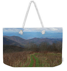 View From Silers Bald 2015a Weekender Tote Bag