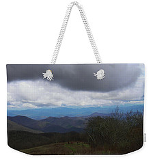 View From Silers Bald 2015b Weekender Tote Bag