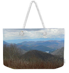 View From Silers Bald 2015c Weekender Tote Bag