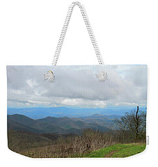 View From Silers Bald 2015d Weekender Tote Bag