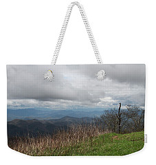 View From Silers Bald 2015e Weekender Tote Bag