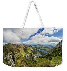 View From Snowdon Summit Weekender Tote Bag