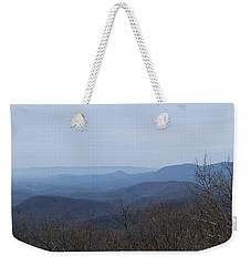 View From Springer Mountain Weekender Tote Bag