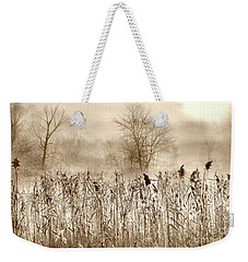 View From The Blind Weekender Tote Bag