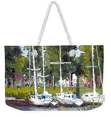 View From The Bridge Weekender Tote Bag by Jim Phillips